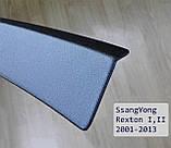 Пластиковая защитная накладка заднего бампера для SsangYong Rexton I,II 2001-2013, фото 2