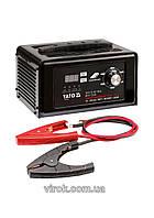 Пуско-зарядное устройство для аккумуляторов 12/24 В YATO 10-300 Ач 2/8/15 А (12 В) 7.5 А (24 В)