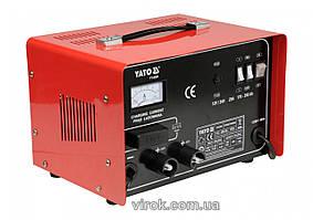 Зарядное устройство для аккумуляторов 12/24 В YATO 25 А 350 Ач