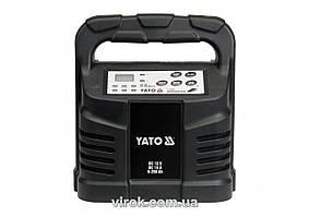 Зарядное устройство для аккумуляторов 12 В YATO 15 А 6-200 Ач