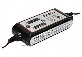 Преобразователь напряжения с сети 230 В AC в 6/12 В DC YATO 4 А 5-120 Ач