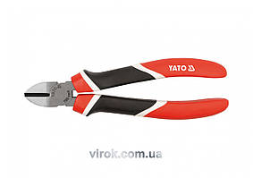 Кусачки боковые YATO CrV l=160 мм