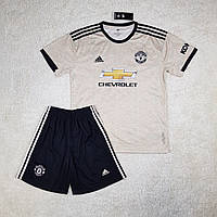 Футбольна форма Манчестер Юнайтед/Manchester United( Англія, Прем'єр Ліга ), виїзна, сезон 2019-2020, фото 1