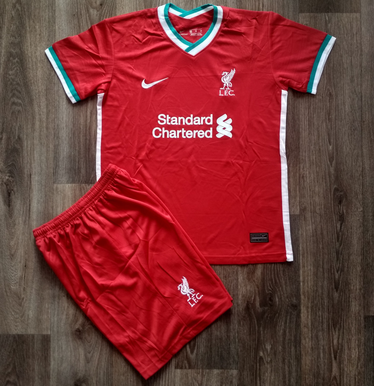 Дитяча футбольна форма Ліверпуль/Liverpool ( Англія, Прем'єр Ліга ), домашня, сезон 2020-2021