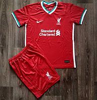 Дитяча футбольна форма Ліверпуль/Liverpool ( Англія, Прем'єр Ліга ), домашня, сезон 2020-2021, фото 1