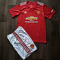 Футбольная форма Манчестер Юнайтед домашняя сезон 2020-2021