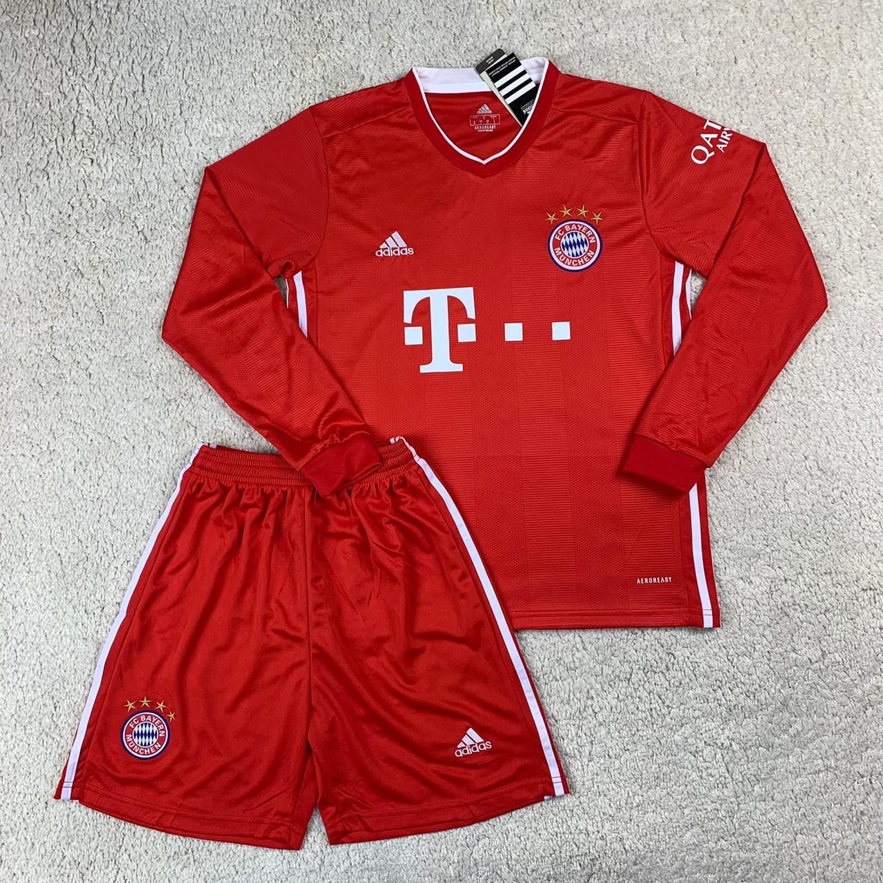 Футбольна форма з довгим рукавом Баварія/Bayern ( Німеччина, Бундесліга ), домашня, сезон 2020-2021