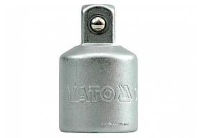 Перехідник YATO 3/4(F) - 1/2(М) 51 мм