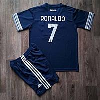 Детская футбольная форма Ювентус RONALDO 7 выездная сезон 2020-2021