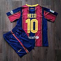 Детская футбольная форма Барселона MESSI 10 домашняя сезон 2020-2021