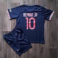 Детская футбольная форма ПСЖ NEYMAR JR 10 домашняя сезон 2020-2021