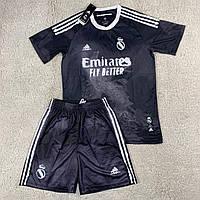 Футбольная формаРеал Мадрид черная сезон 2020-2021