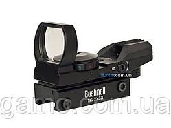 Голографический прицел BUSHNELL 1x22x33 планка 21 мм Weaver/Picatinny, Коллиматор