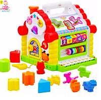 """Детская развивающая игрушка для малышей """"Теремок"""" 9196"""