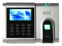 Биометрическая система учета рабочего времени по отпечатку пальца ZKTeco U300-C