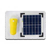 Сонячний зарядний пристрій з вбудованим акумулятором ALTEK ALT-SHL-3W, фото 1
