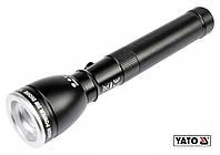 Фонарь водонепроницаемый светодиодный YATO 3 Вт 110 лм 162 х 37 мм 1 х АА