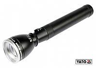 Фонарь водонепроницаемый светодиодный YATO 3 Вт 130 лм 228 х 47 мм 2 x C/R14