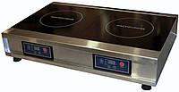 Плита индукционная промышленная двухконфорочная ПИ-2