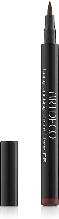 Підводка для очей Artdeco Long Lasting Liquid Liner (тестер) 01 - Black