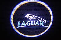 Подсветка дверей авто / лазерная проeкция логотипа Jaguar | Ягуар