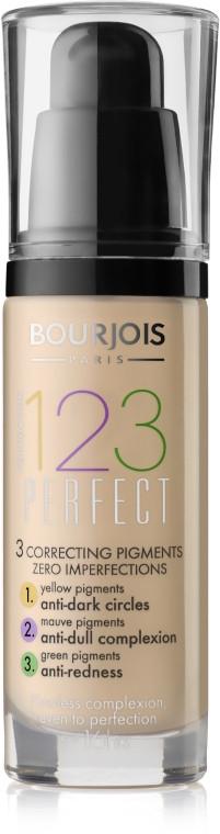 Тональна основа Bourjois 123 Perfect 51 - Light Vanila