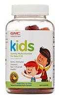 GNC Gummy Multivitamin for Kids 2-12 120 Gummies, фото 1