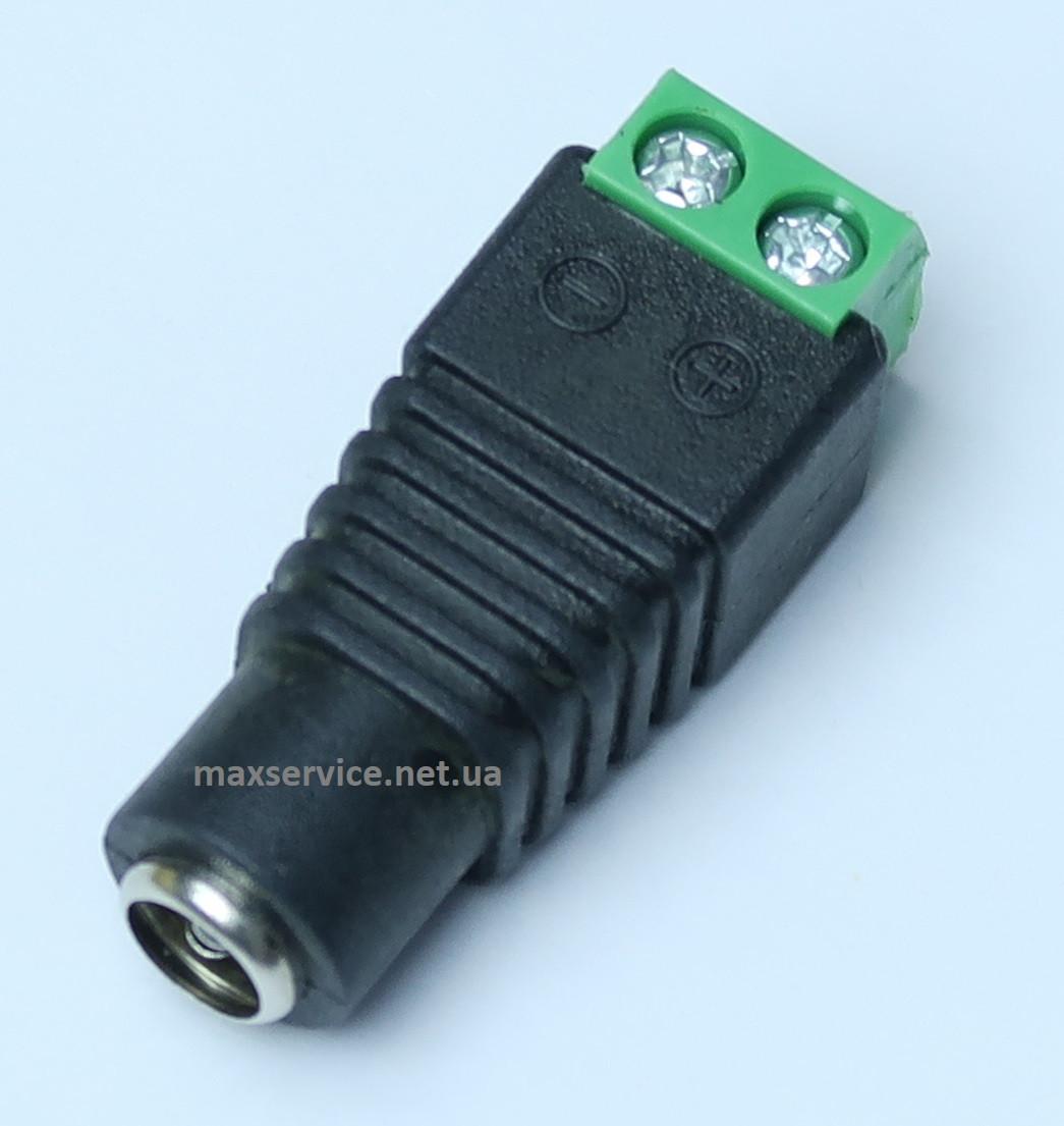 Конектор для підключення живлення 5.5/2.5мм GV-DC female (3588)