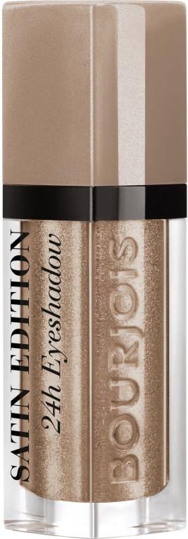 Рідкі тіні для повік Bourjois Satin Edition 24H Eyeshadow 06 - Drive me Grey-zy