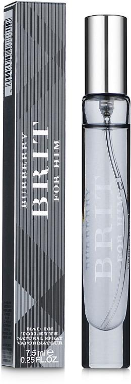 Туалетная вода для мужчин (мини) Burberry Brit For Men 7.5 мл