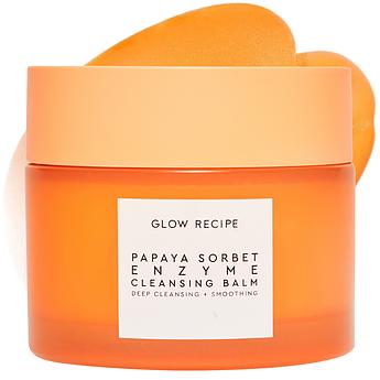Бальзам для глубокого очищения с энзимами папаи Glow Recipe Papaya Sorbet Enzyme Cleansing Balm 100 мл