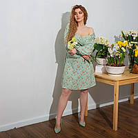 Женское красивое платье с красивым декольте, размер 48 50 52 54 56 58