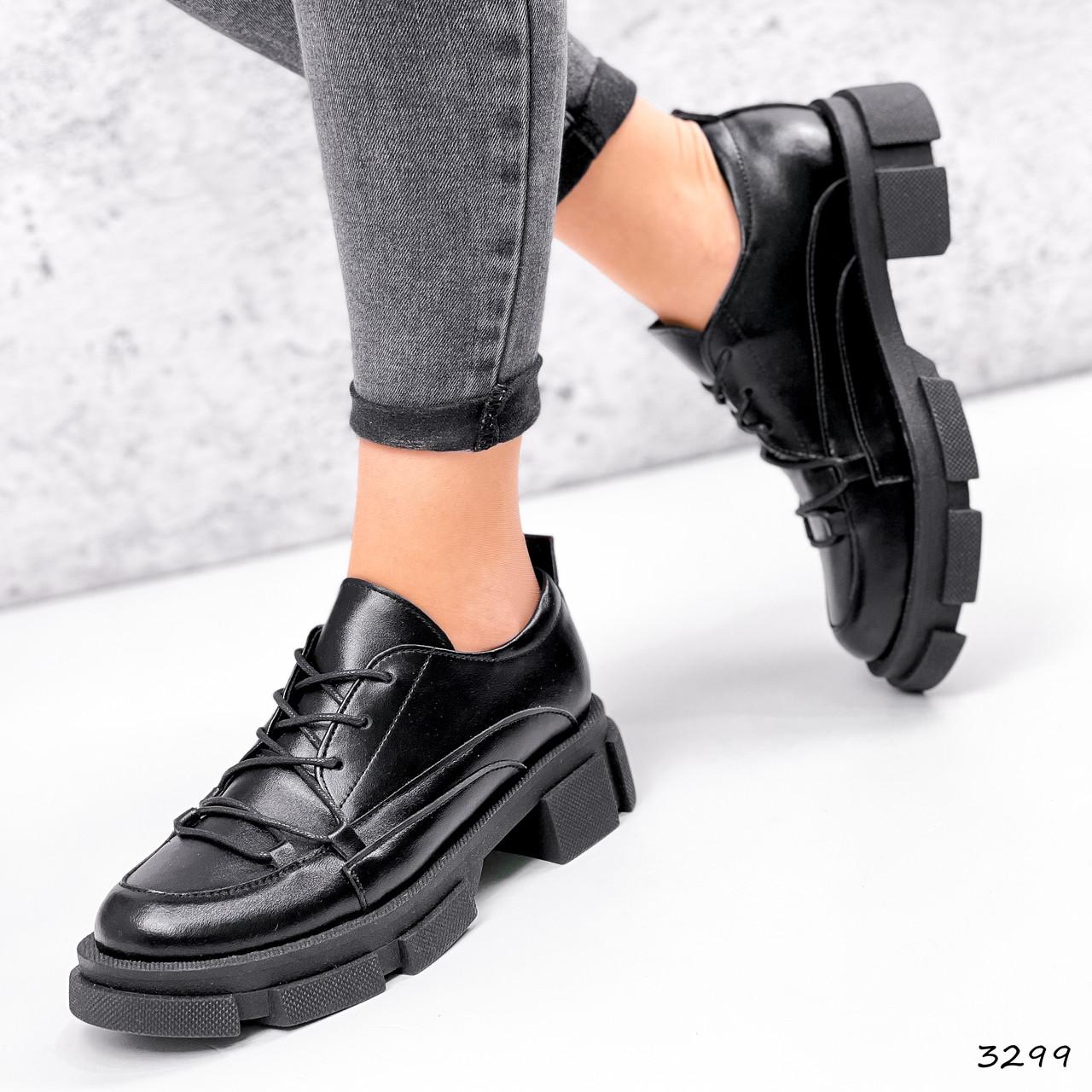 Туфли женские Gert черные 3299