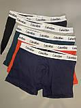 Мужские трусы боксеры в фирменной подарочной упаковке 5 шт. Трусы транки боксеры шорты мужские 8, фото 6