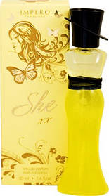 Парфюмерная вода для женщин Carlo Bossi She Xx 50 мл (01020110403)