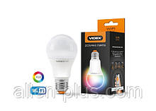 Розумна лампочка Wi-Fi VIDEX A60 RGBCW 12W 220V E27