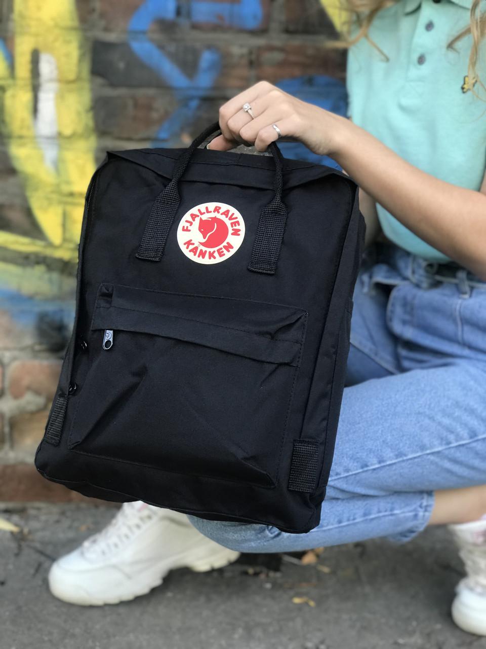 Жіночий рюкзак Kanken, чорний