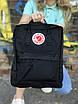 Жіночий рюкзак Kanken, чорний, фото 2