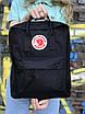 Жіночий рюкзак Kanken, чорний, фото 5
