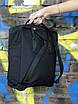 Жіночий рюкзак Kanken, чорний, фото 6