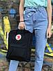 Жіночий рюкзак Kanken, чорний, фото 7