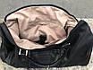 Чоловіча чорна сумка з натуральної шкіри David Jones, фото 5