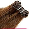 Натуральные Славянские Волосы на Трессе 45-50 см 100 грамм, Шоколад №04, фото 3