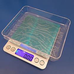 Весы ювелирные с 2-мя чашами до 2 кг, Н-2000 (0,1 гр)
