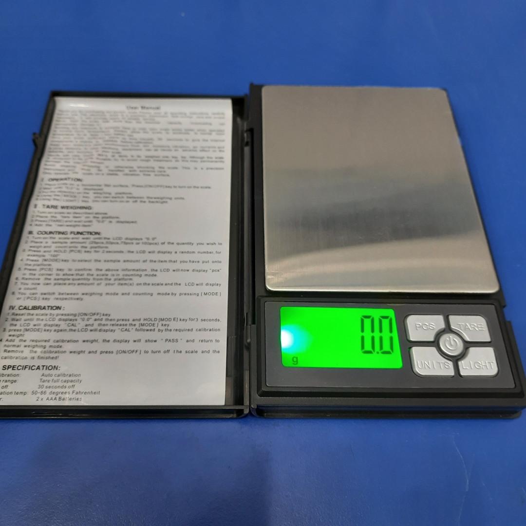 Ювелірні точні ваги SF-820 (500g/0,01)