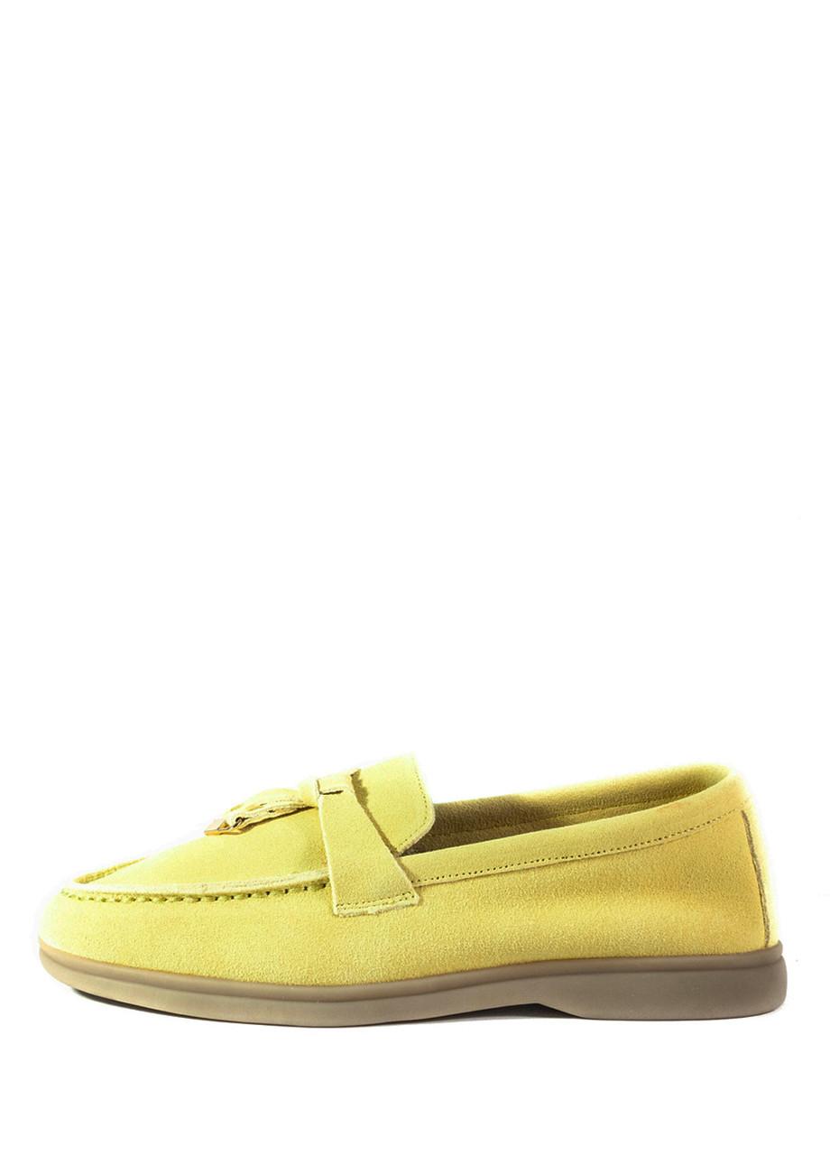 Слиперы женские Lonza 6002 желтые (36)