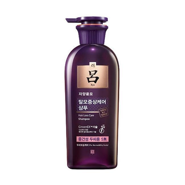 Шампунь от выпадения волос Ryo Hair Loss Care Shampoo Для нормальной и сухой кожи головы 400 ml