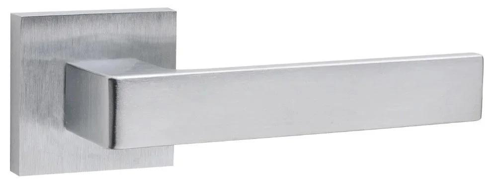 Ручки для дверей Fimet 168 Ice матовый хром