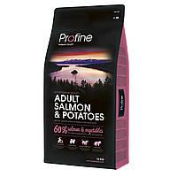 Корм сухий для собак Profine Adult Salmon гіпоалергенний (лосось ) 15 кг