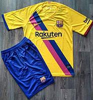 Футбольная форма Барселона выездная сезон 2019-2020